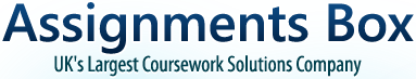 Assignments Box UK's Largest Coursework Solutions Company